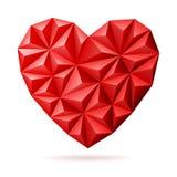 Corazón del día de tarjetas del día de San Valentín Fotos de archivo libres de regalías