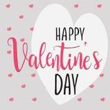 Corazón del día del ` s de la tarjeta del día de San Valentín libre illustration