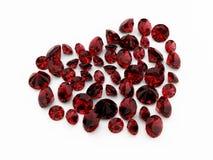 Corazón del diamante Foto de archivo libre de regalías