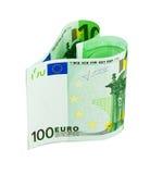 Corazón del dinero Imágenes de archivo libres de regalías