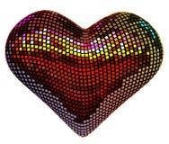 Corazón del disco Foto de archivo