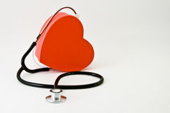 Corazón del doctor Imágenes de archivo libres de regalías