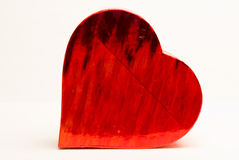 Corazón del fuego Imágenes de archivo libres de regalías