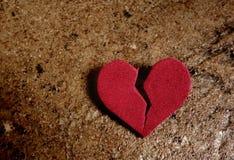 Corazón del Grunge Fotografía de archivo libre de regalías