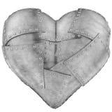 Corazón del hierro stock de ilustración