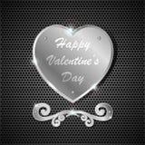 Corazón del hierro Imagen de archivo libre de regalías