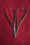 Corazón del hierro imágenes de archivo libres de regalías