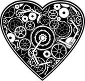 Corazón del mecánico Imágenes de archivo libres de regalías