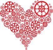 Corazón del modelo Imágenes de archivo libres de regalías