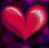Corazón del mosaico Foto de archivo libre de regalías