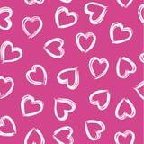 Corazón del movimiento del cepillo Foto de archivo libre de regalías
