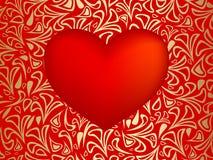 Corazón del rojo del vector libre illustration