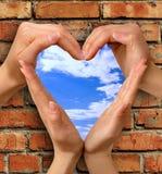 Corazón del símbolo Fotos de archivo