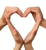 Corazón del símbolo Imagenes de archivo