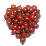 Corazón del tomate Fotos de archivo