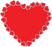 Corazón del vector Fotografía de archivo libre de regalías