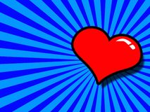 Corazón del vector Imagen de archivo
