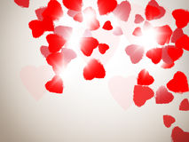 Corazón del vuelo Imagenes de archivo