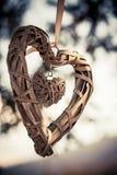 Corazón dentro de un corazón Imagen de archivo libre de regalías