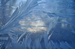 Corazón derretido en el hielo Fotos de archivo