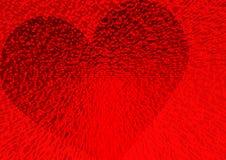 Corazón dimensional Foto de archivo