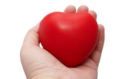 Corazón a disposición Imagen de archivo libre de regalías