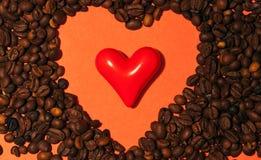 Corazón doble Imágenes de archivo libres de regalías