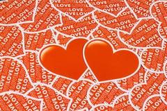Corazón dos Fotos de archivo libres de regalías
