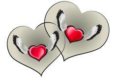 Corazón dos Imagenes de archivo