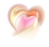 Corazón dulce del fractal Foto de archivo