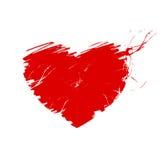 Corazón - ejemplo Fotos de archivo libres de regalías
