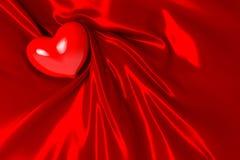 Corazón el el día de tarjeta del día de San Valentín Fotografía de archivo