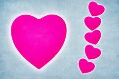 Corazón en blanco Imagenes de archivo