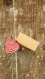 Corazón en cadena Fotos de archivo libres de regalías
