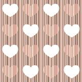 Corazón en colores pastel Imagen de archivo