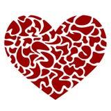 Corazón en pedazos Imágenes de archivo libres de regalías