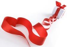 Corazón estilizado de la tarjeta del día de San Valentín Fotografía de archivo