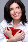 Corazón feliz fotografía de archivo
