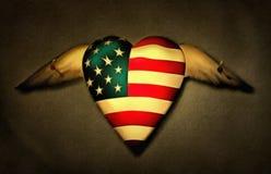 Corazón fijado fotos de archivo libres de regalías