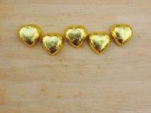 Corazón, fondo de la tarjeta del día de San Valentín Foto de archivo libre de regalías