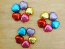 Corazón, fondo de la tarjeta del día de San Valentín Fotos de archivo libres de regalías