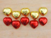 Corazón, fondo de la tarjeta del día de San Valentín Imagen de archivo libre de regalías
