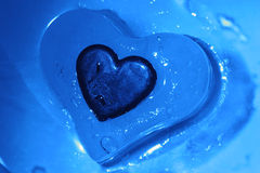 Corazón frío Fotos de archivo libres de regalías