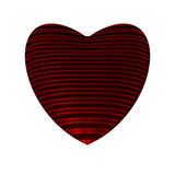 Corazón futurista Fotografía de archivo libre de regalías