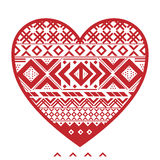 Corazón gráfico Foto de archivo