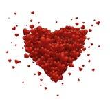 Corazón grande Foto de archivo libre de regalías