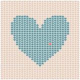 Corazón hecho de pequeños corazones libre illustration