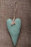 Corazón hecho a mano Imágenes de archivo libres de regalías