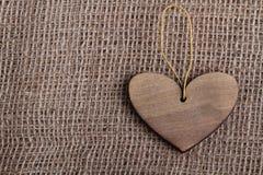 Corazón hecho a mano Fotos de archivo