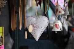 Corazón hecho a mano Foto de archivo